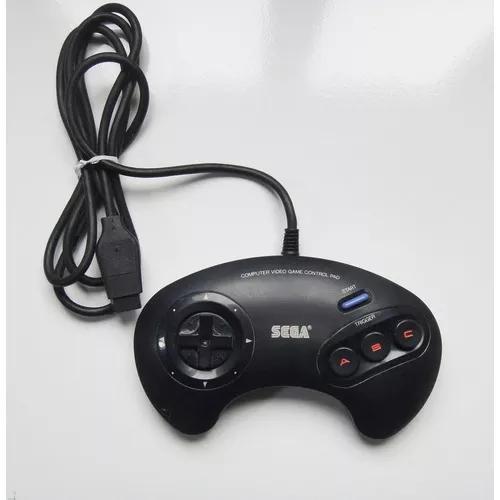 Controle original japonês 3 botões mega drive ref3470