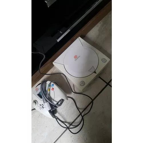 Dreamcast +vmu + rumbleshock + 1 controle