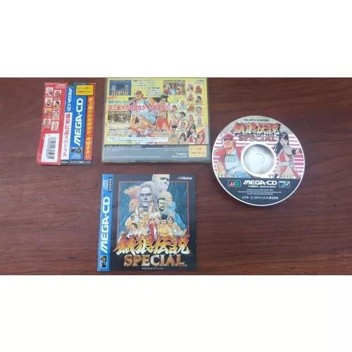 Fatal fury special mega cd japones com spin