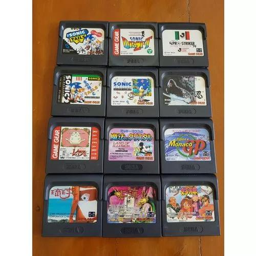 Game gear sega - lote com 12 games - 02