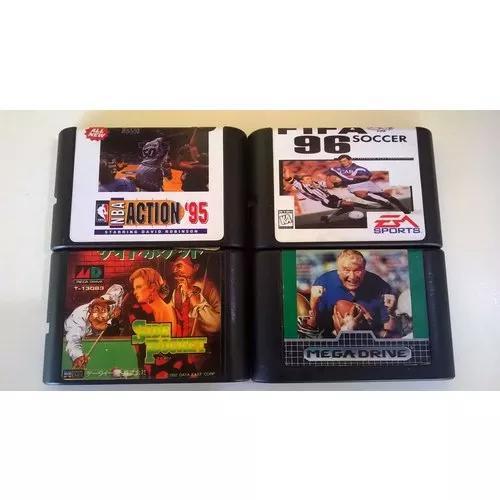 Jogos mega drive 3. combo com 4 jogos
