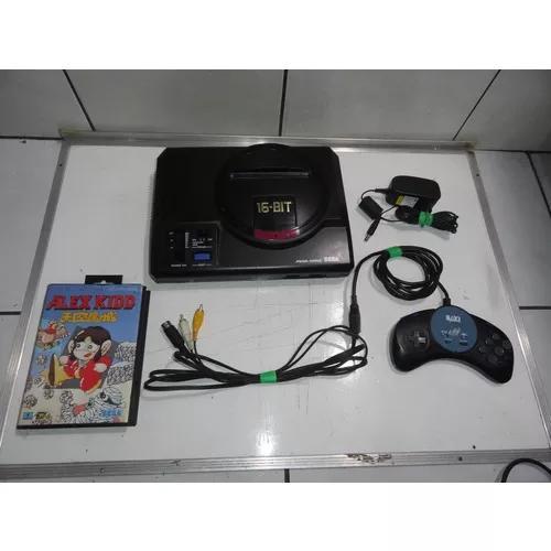 Mega drive 1 jp haa-2510 console completo só jogar c06