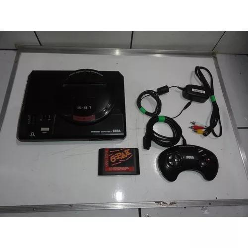 Mega drive 2 console coleção lindo e completo com jogos