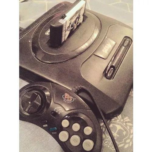 Mega drive 3 tec toy + everdrive com 99% dos jogos de mega