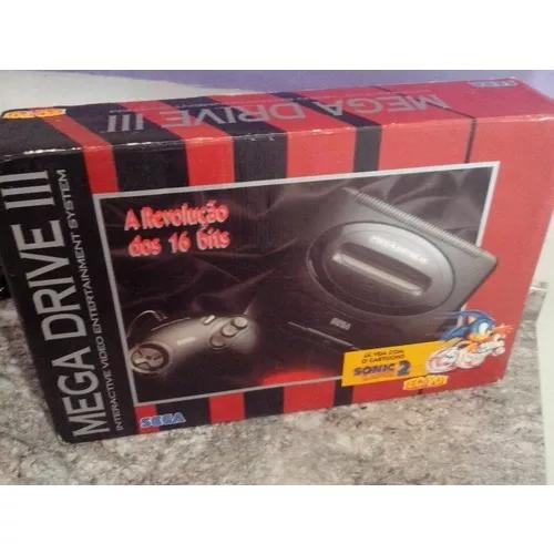 Mega drive 3 (na caixa)