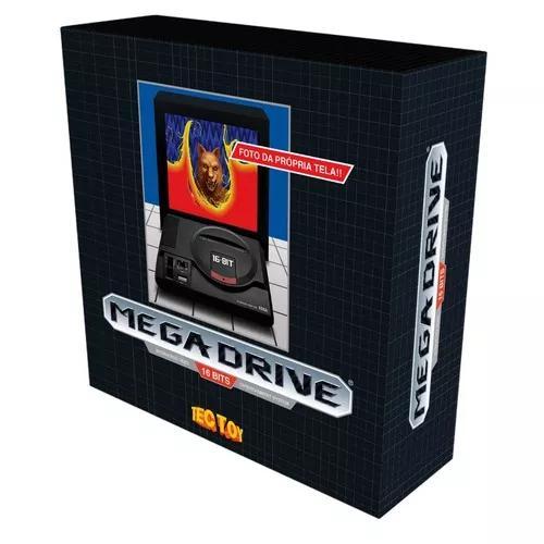 Mega drive edição retrô limitada tectoy console e 1512