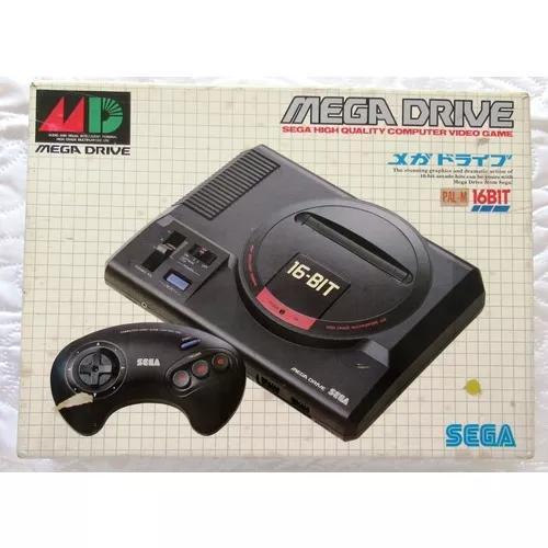 Mega drive japonês *100%* top * mod haa 2510 placa va6