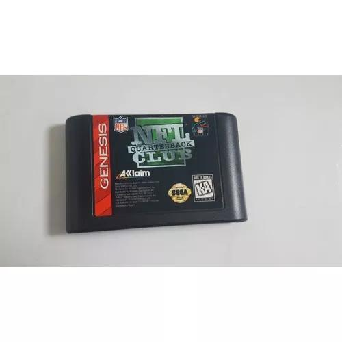 Mega drive jogo original nfl quarterback club cartucho