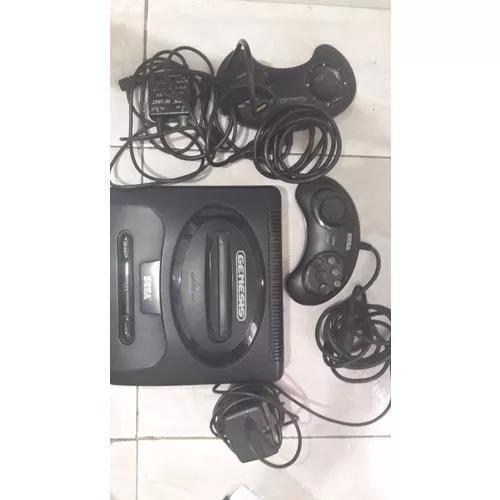 Mega drive + jogos + controles: original