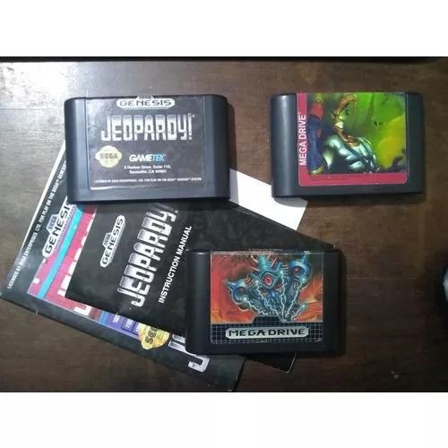 Mega drive: quatro jogos originais