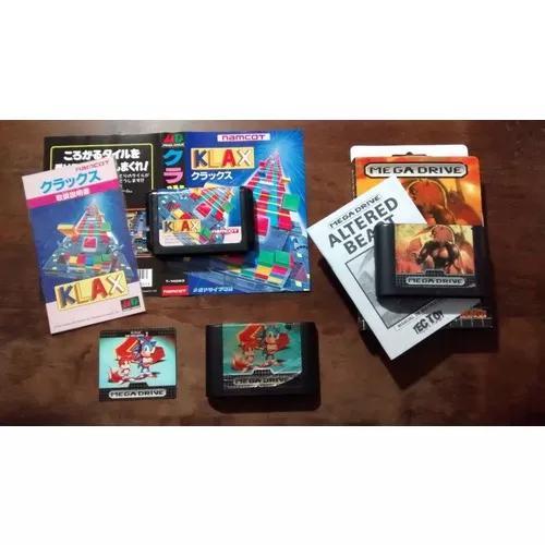 Mega drive: seis jogos originais para mega drive (anúncio