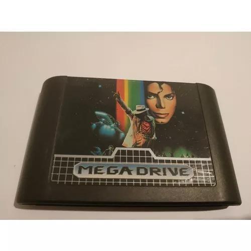 Michael jackson moonwalker mega drive original jogo cartucho