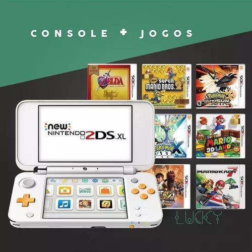 New nintendo 2ds + jogos instalados!