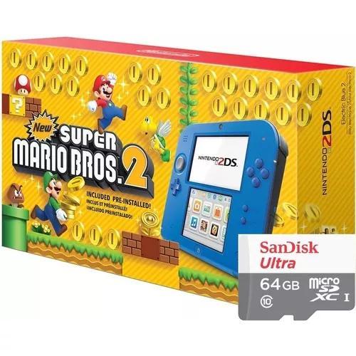 Nintendo 2ds 64gb + 300 jogos nintendo 3ds & ds +