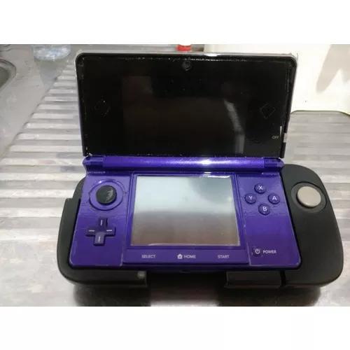 Nintendo 3ds roxo + resident evil revelations + circle pad