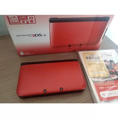 Nintendo 3ds xl desbloqueado 32gb s