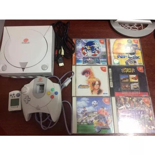 Sega dreamcast jp original 100% e branquinho