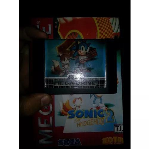 Sonic 2 original tec toy mega drive