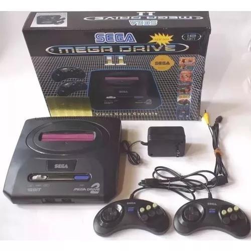 Video game mega drive 2 com 368 jogos na m