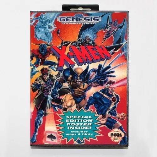 X-men original mega drive usado c/ caixa s