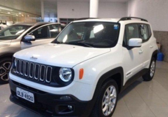 Jeep renegade 1.8 prefeito estado 2016 com plano cdc p