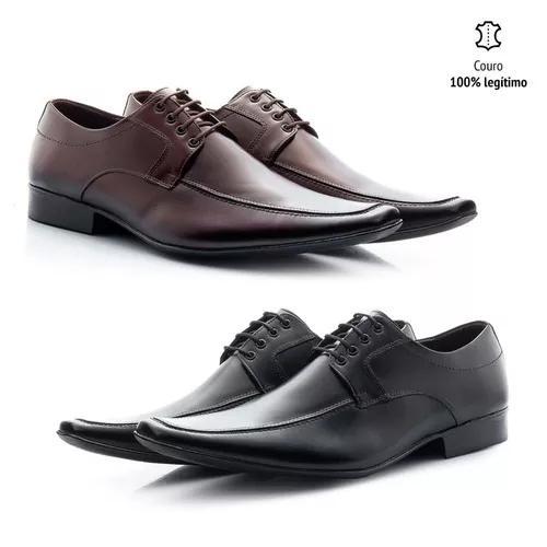Kit 2 pares de sapato estilo italiano