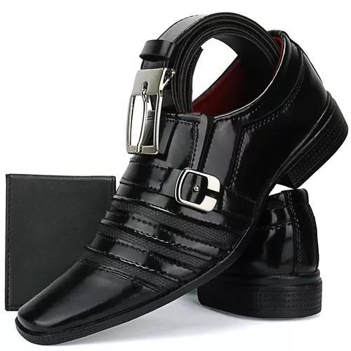 e087bc7950 Sapato social couro masculino 【 REBAIXAS Julho 】 | Clasf