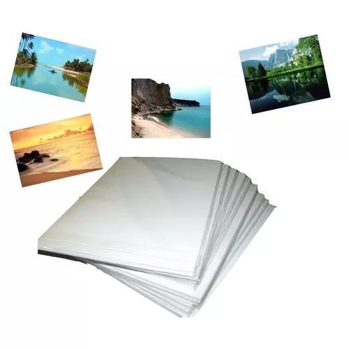 300 folhas papel foto glossy 180g a4 brilho prova d'agua