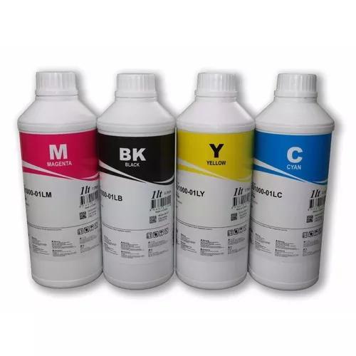 4 litros tinta epson inktec impressora l395 l495 l575 l1300