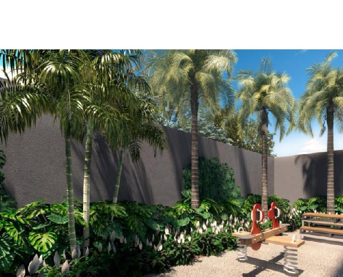 Apartamento de 61 m² de 02 dormitórios (01 suite) 01 vaga