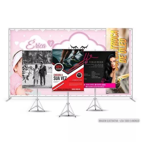 Banner personalizado faixa ou adesivo 0,6 x 0,8 m / 60 x 80
