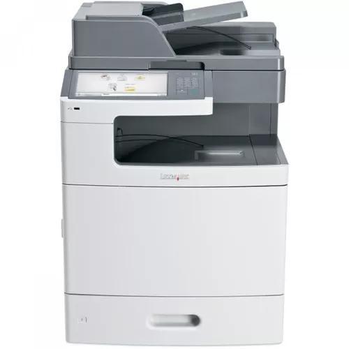 Impressora multifuncional laser color x792de lexmark 110v