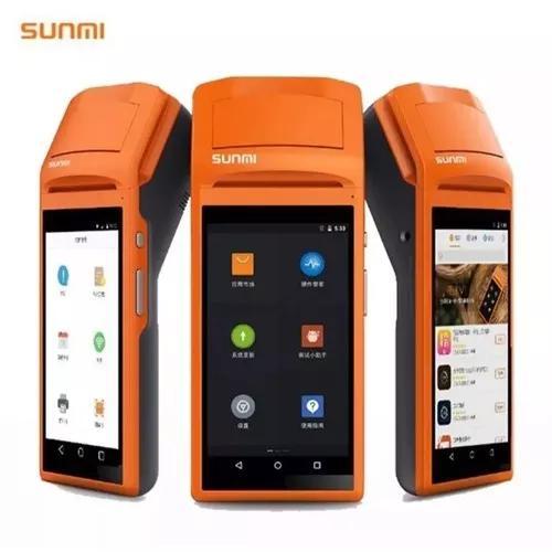 Impressora termica sunmi v1 pda android pos wi-fi bluetooth