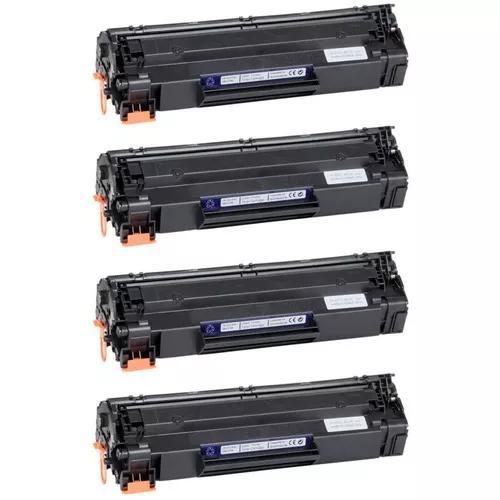 Kit c/ 4x toner p/ laser m1120mfp m1120 m1120n 1120 mfp
