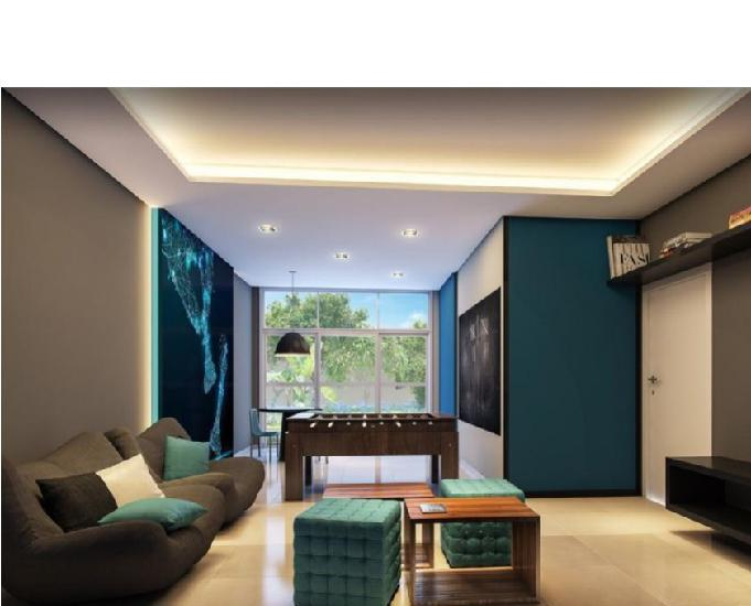 Lançamento de apartamento novo 48m e 59m 2 dormitorios
