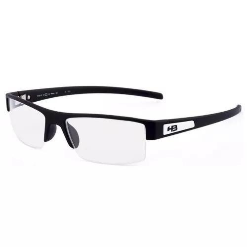 5577e4167 Armação oculos grau hb polytech 9310170133 preto fosco