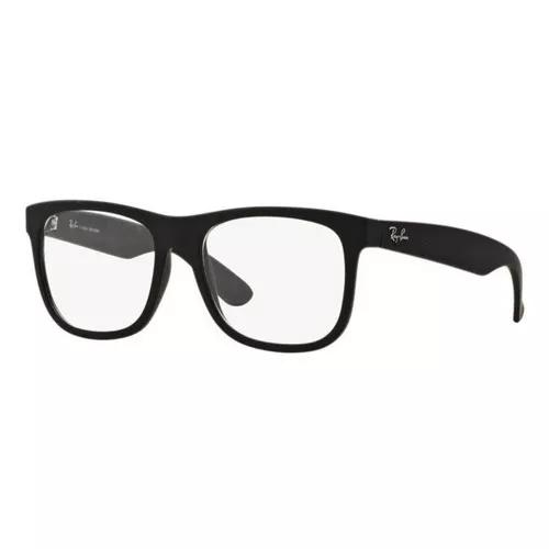 Armação oculos grau ray ban ennio rb7057l 5364 preto fosco