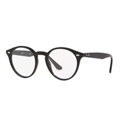 Armação oculos grau ray ban rb2180v 2000 49mm preto