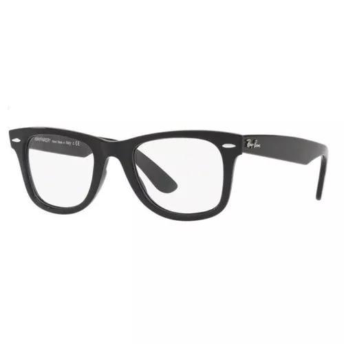 Armação oculos grau ray ban rb4340v 2000 wayfarer preto