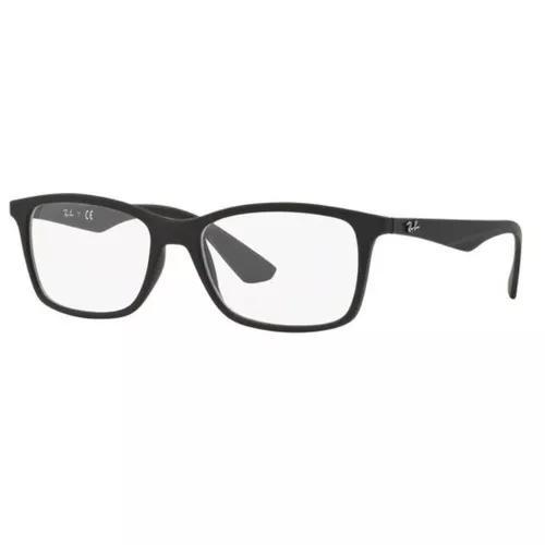 Armação Oculos Grau Ray Ban Rb7047l 5196 56mm Preto Fosco