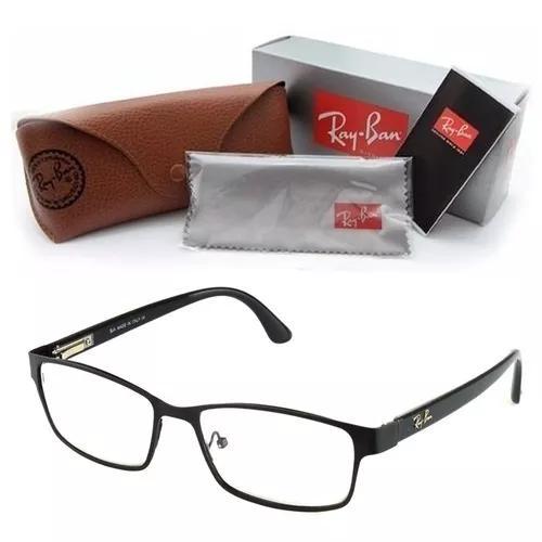 Armação rayban óculo grau f