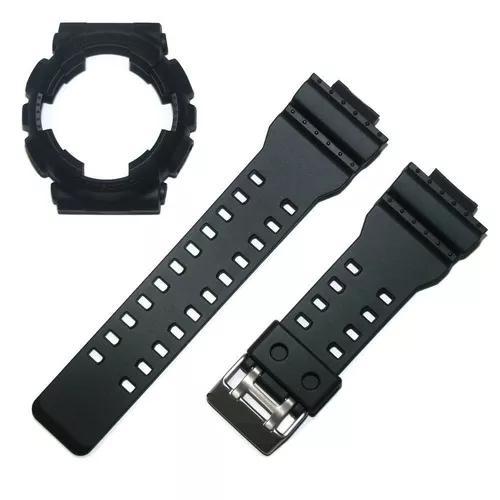Kit bezel pulseira casio ga-100 ga-110 ga-120 gd-100 g-shock