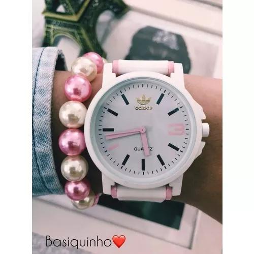 Kit c/ 10 relógios adidas + caixinhas + brinde: 10