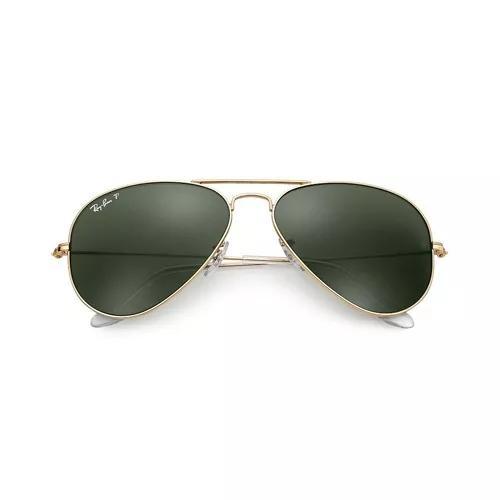 Oculos de sol ray ban aviador original rb3025 polarizado