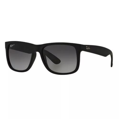 Oculos De Sol Ray Ban Justin Rb4165 622/t3 55 Polarizada