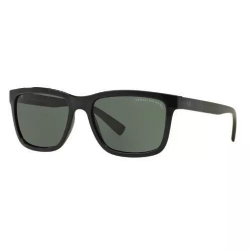 Oculos sol armani exchange ax4045sl 817871 preto brilho g15