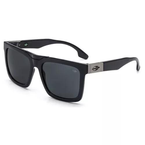 Oculos sol mormaii long beach m0064a0201 preto brilho