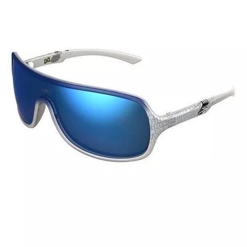 Oculos sol mormaii speranto 11648212 branco azul espelhado