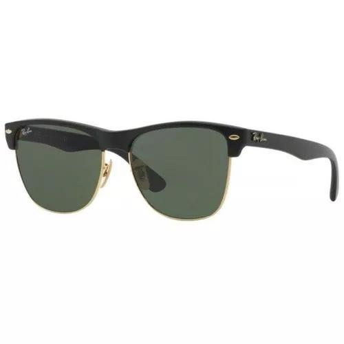 Oculos sol ray ban clubmaster rb4175 877 57mm preto dourado