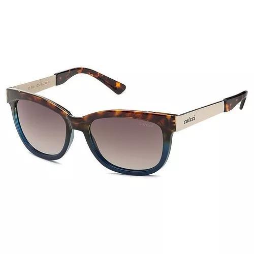 Oculos solar colcci flair cod. 503790034 marrom azul